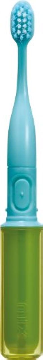 地元評判牛ラドンナ 携帯音波振動歯ブラシ mix (ミックス) MIX-ET グリーン