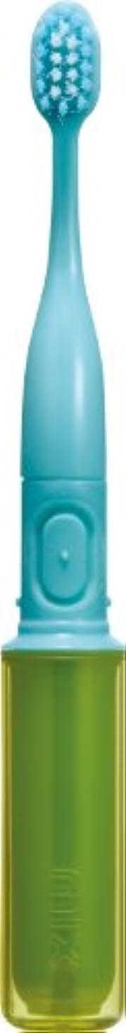 強いますレバー関連するラドンナ 携帯音波振動歯ブラシ mix (ミックス) MIX-ET グリーン