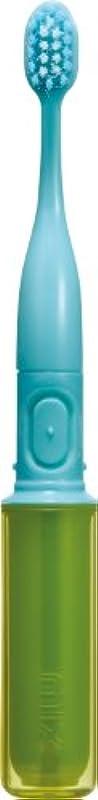 石のテクトニック狂人ラドンナ 携帯音波振動歯ブラシ mix (ミックス) MIX-ET グリーン