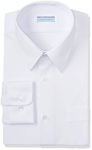 [トンボ学生服] トンボ学生服 透けにくいスクールシャツ シーブロックニット 男子長袖 T-12-5