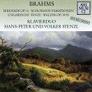Serenade Op 11 / Schumann Variations Op 23
