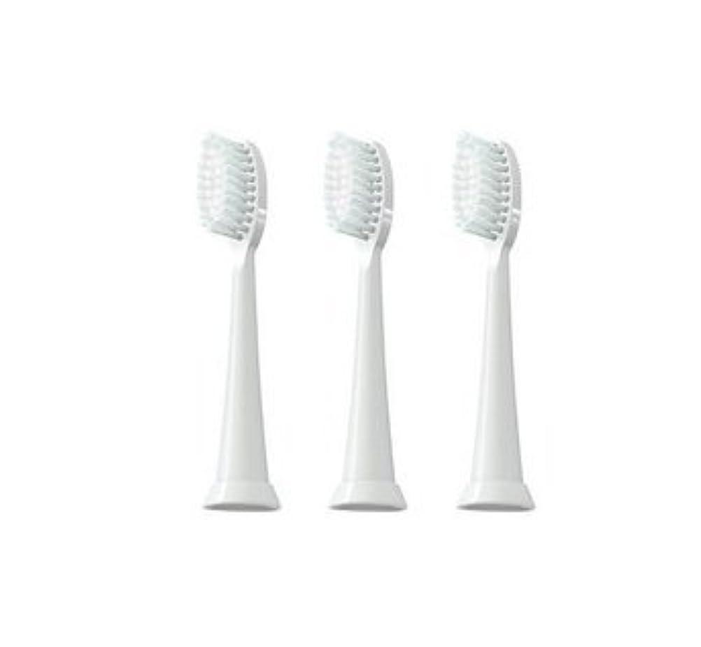 祖父母を訪問繊細納屋TAO Clean 電動歯ブラシ用【替えブラシ 3本セット】(ホワイト)通常はメール便にて発送します。