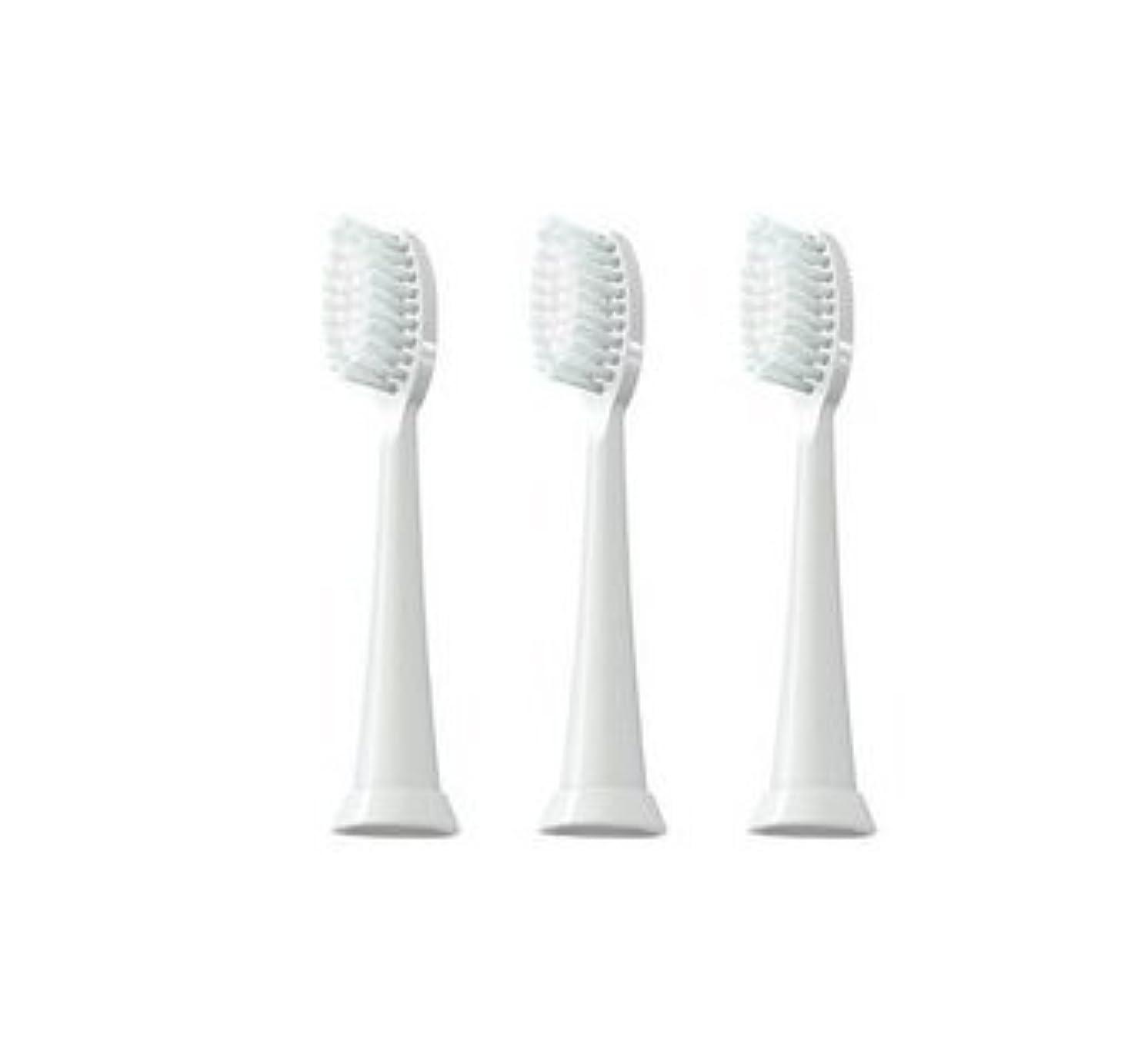 原告影のあるペナルティTAO Clean 電動歯ブラシ用【替えブラシ 3本セット】(ホワイト)通常はメール便にて発送します。
