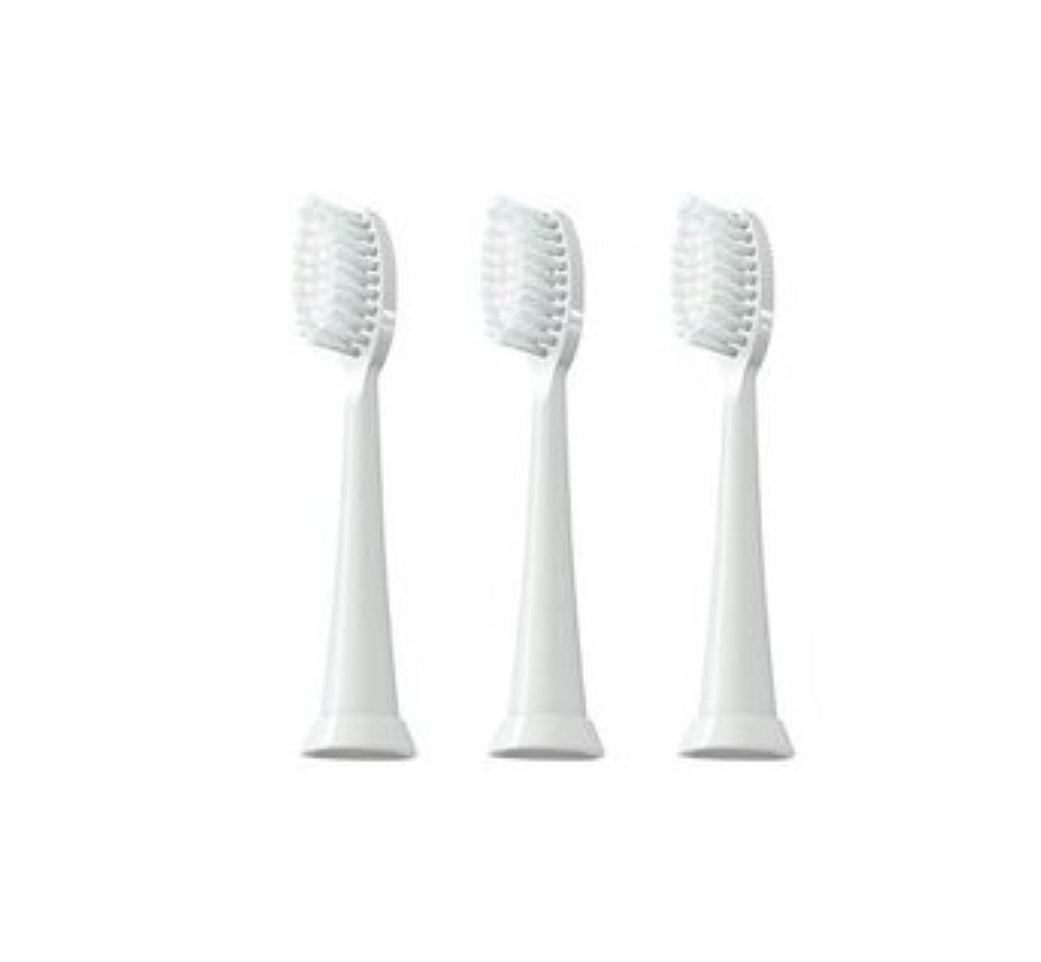 宿命弓吸うTAO Clean 電動歯ブラシ用【替えブラシ 3本セット】(ホワイト)通常はメール便にて発送します。