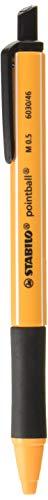 スタビロ 油性ボールペン ポイントボール 0.5mm ブラック 2本 B6030-46