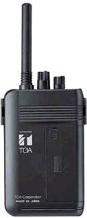 TOA ワイヤレスガイド携帯型送信機 WM-1100