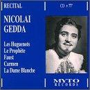 Nicolai Gedda Recital