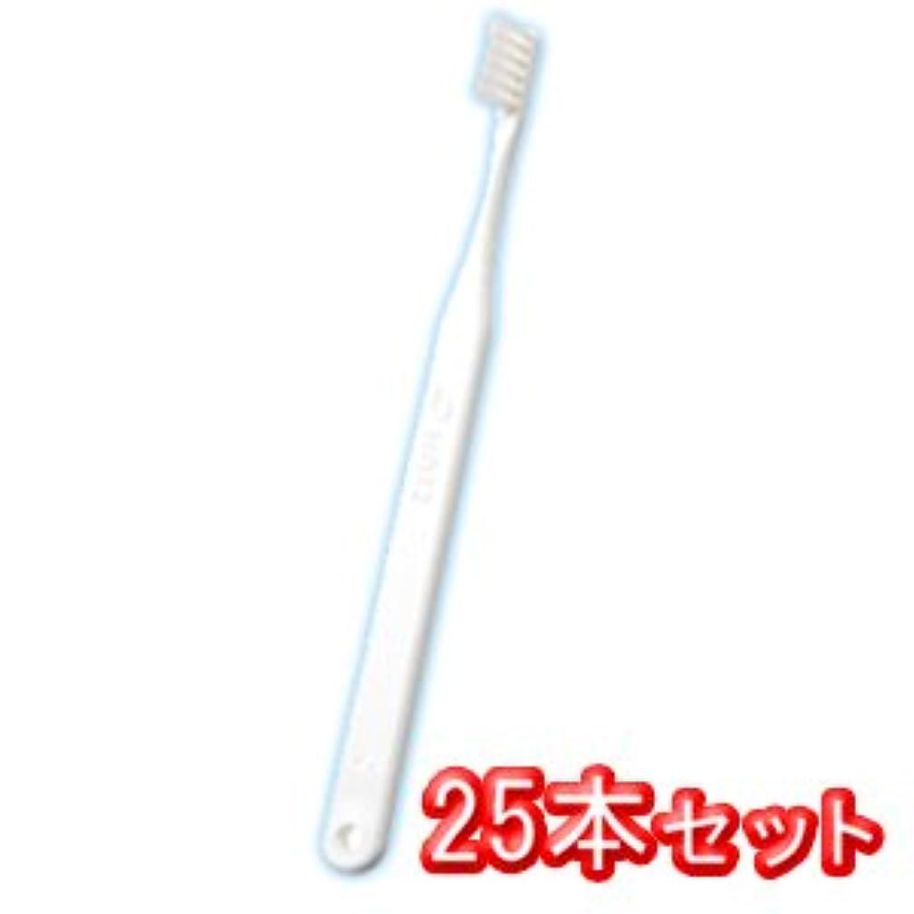 高いエレベーター熟すオーラルケア タフト12 歯ブラシ 25本入 スーパーソフト SS ホワイト