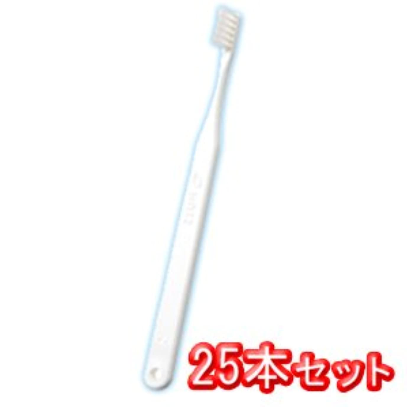 九月扱う提供するオーラルケア タフト12 歯ブラシ 25本入 スーパーソフト SS ホワイト