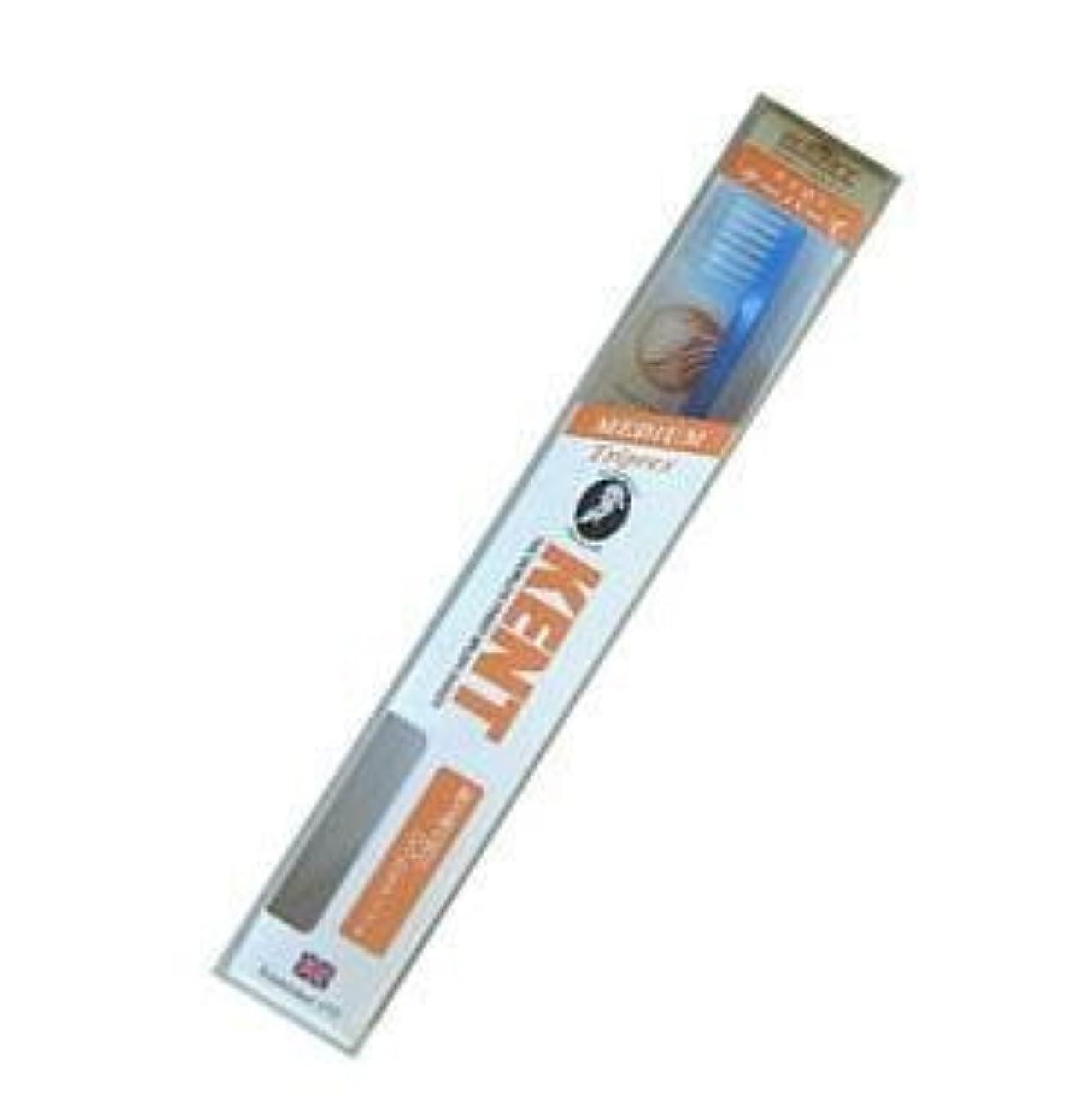 ピックスナッチ著名なKENT(ケント) トリプレックス ナイロン歯ブラシ コンパクトヘッド ふつう KNT9211