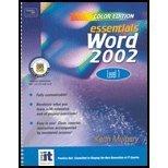 Essentials: Excel 2002 Level 1 (Color Edition) (Essentials Series: Microsoft Office XP)