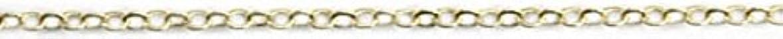 スコア値ダイバープリティーネイル ネイルアートパーツ ツイストチェーンSS ゴールド 1m 1個