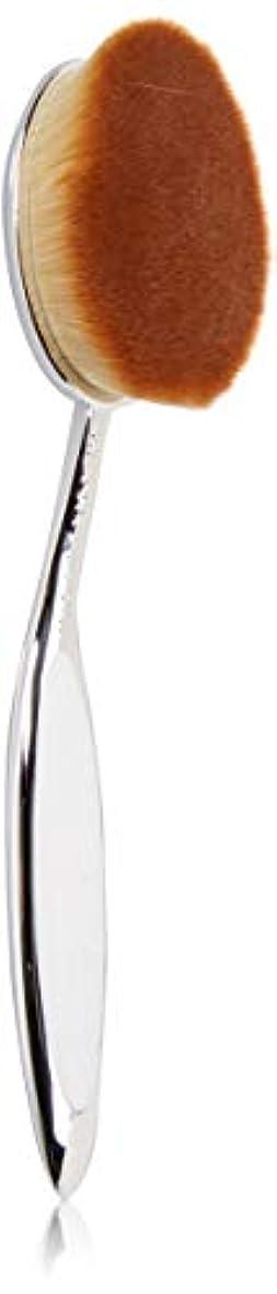 類似性スクラブ穀物Artis Elite Collection Mirror Finish Oval 8 Brush アーティス メイクブラシ オーバル 8 ミラーフィニッシュ エリート コレクション