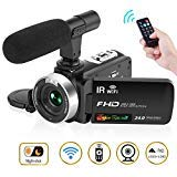 ビデオカメラ デジタルカメラ カムコーダー フルHD 108...