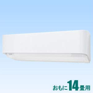 東芝 【エアコン】 大清快おもに14畳用 (冷房:11~17畳/暖房:11~14畳) F-DRシリーズ 電源200V (グランホワイト) RAS-F406DR-W