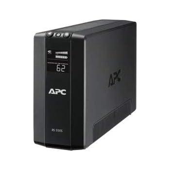 APC RS 550VA Sinewave Battery Backup 100V