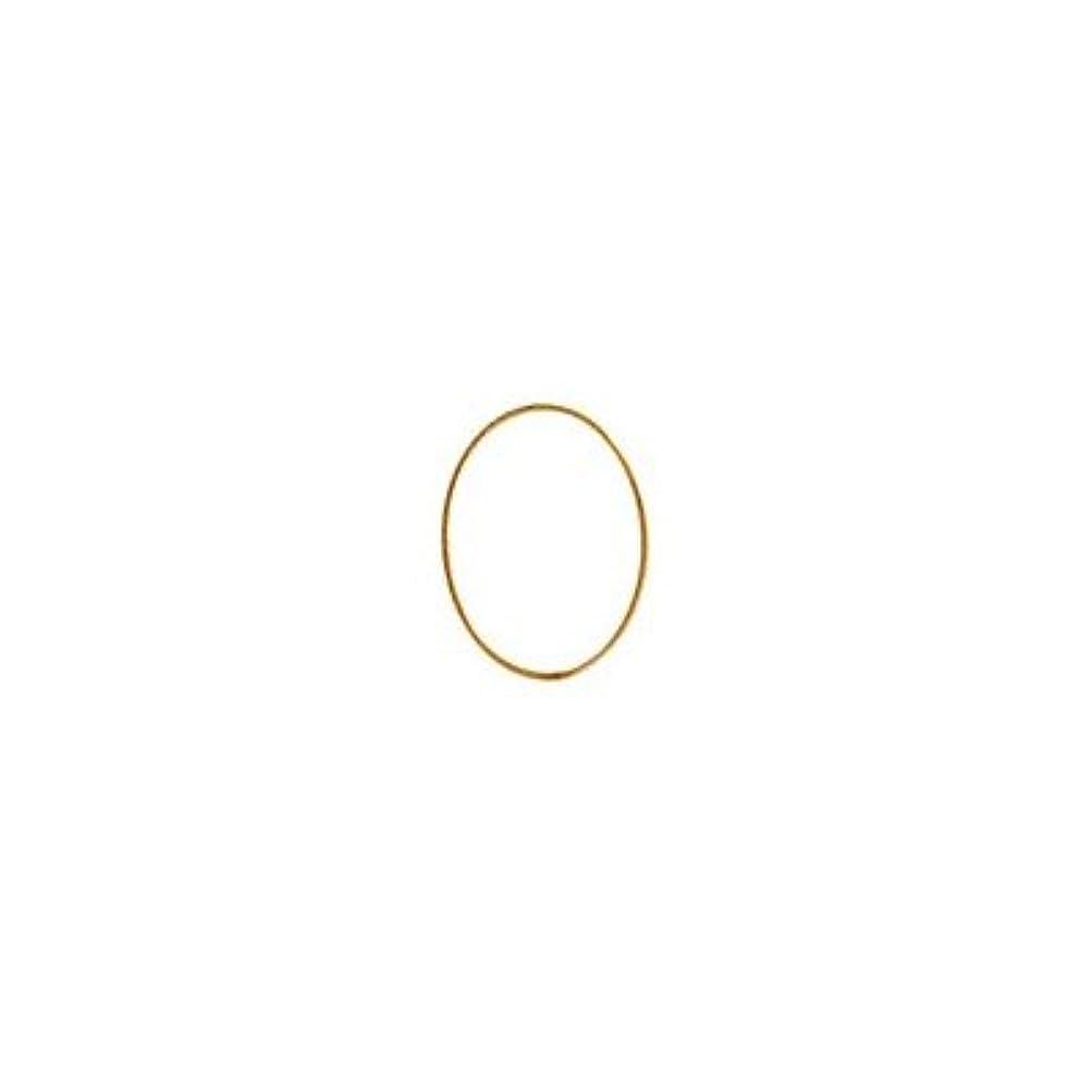 炎上ラック率直なシャレドワミュゼ BLC ブローチ オーバル 7×5mm ゴールド 10p