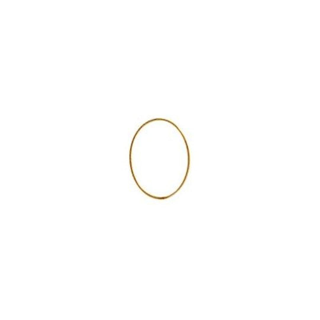 一定バーチャルアナウンサーシャレドワミュゼ BLC ブローチ オーバル 7×5mm ゴールド 10p