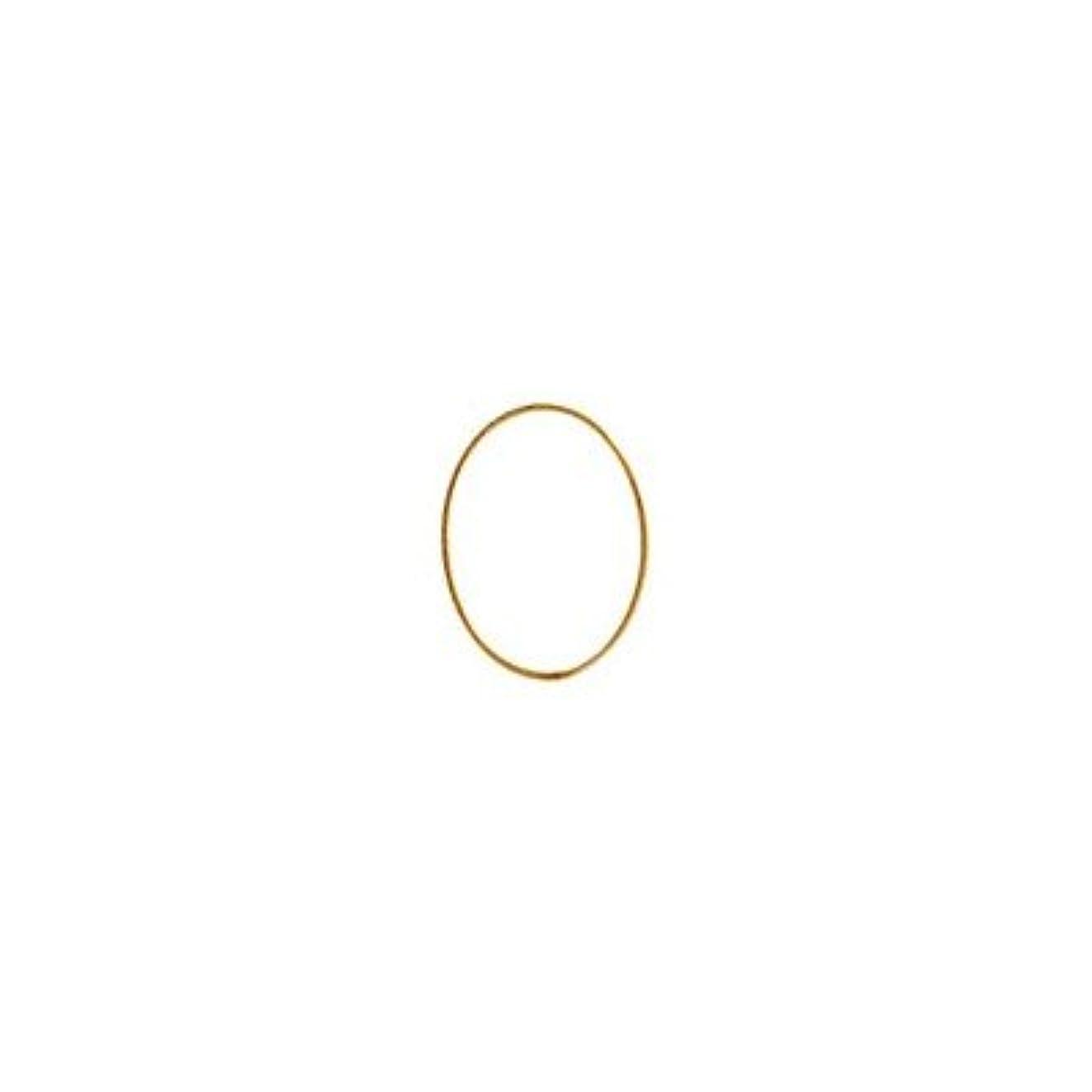 税金通常運命的なシャレドワミュゼ BLC ブローチ オーバル 7×5mm ゴールド 10p