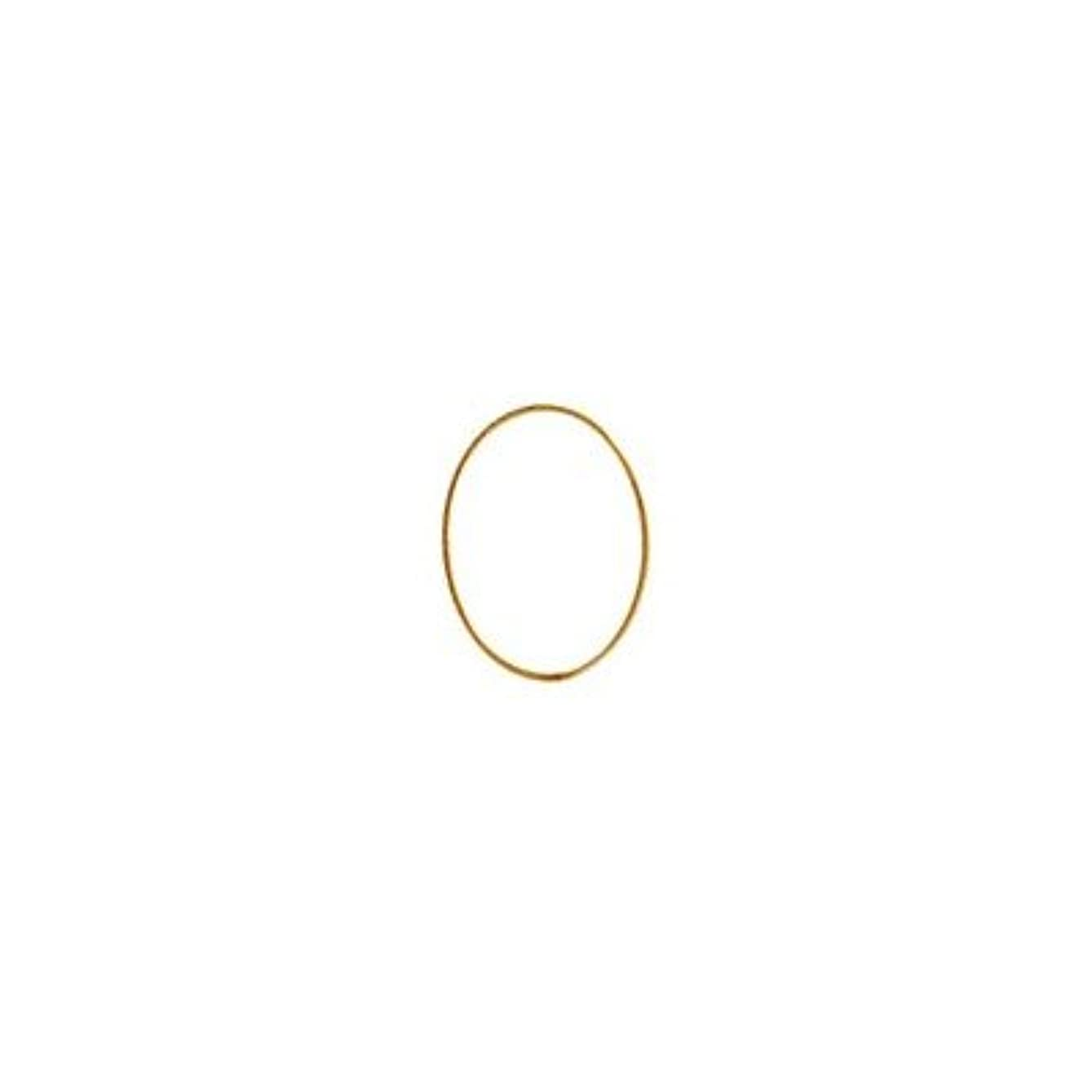 大臣彼女自身無シャレドワミュゼ BLC ブローチ オーバル 7×5mm ゴールド 10p
