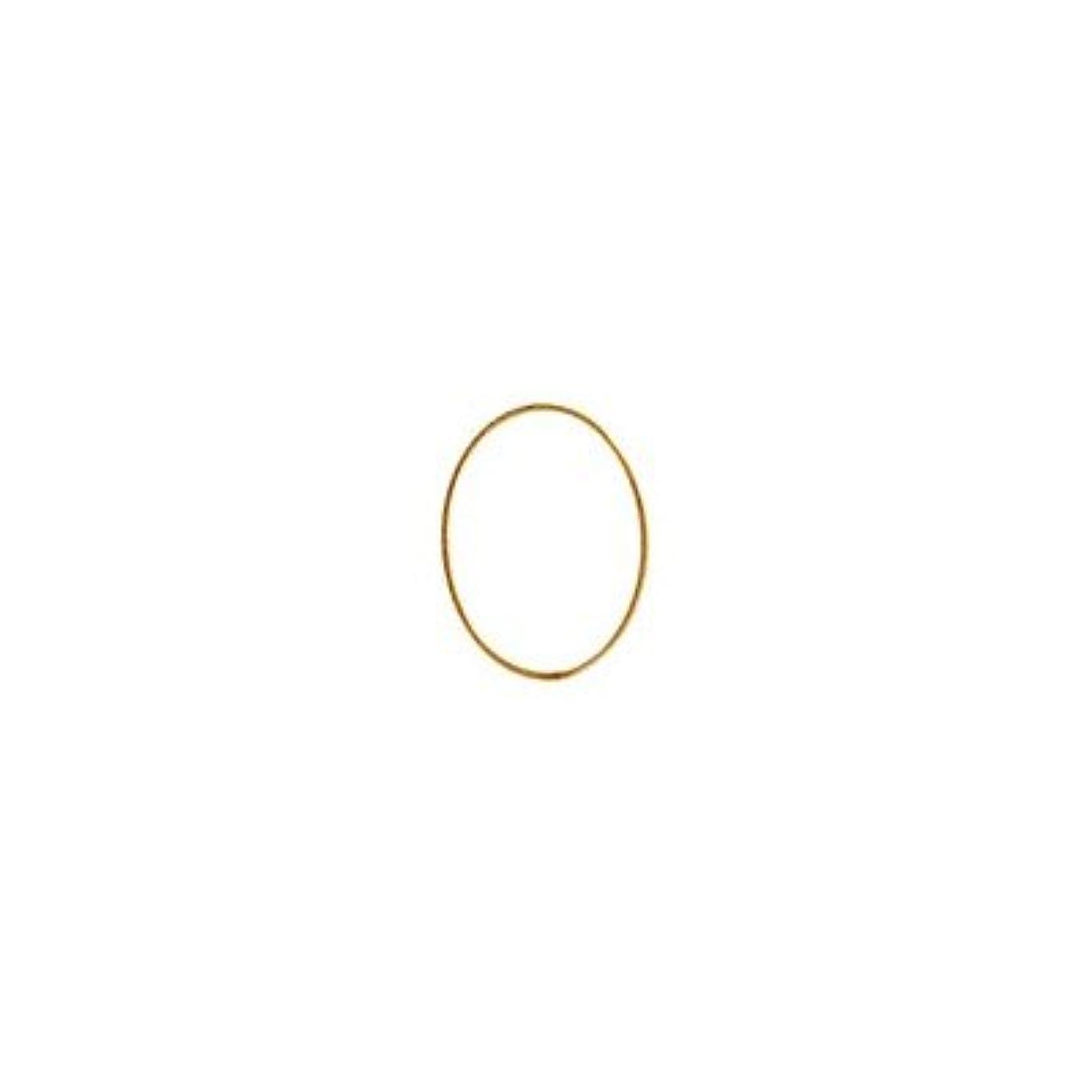 程度幾何学タッチシャレドワミュゼ BLC ブローチ オーバル 7×5mm ゴールド 10p