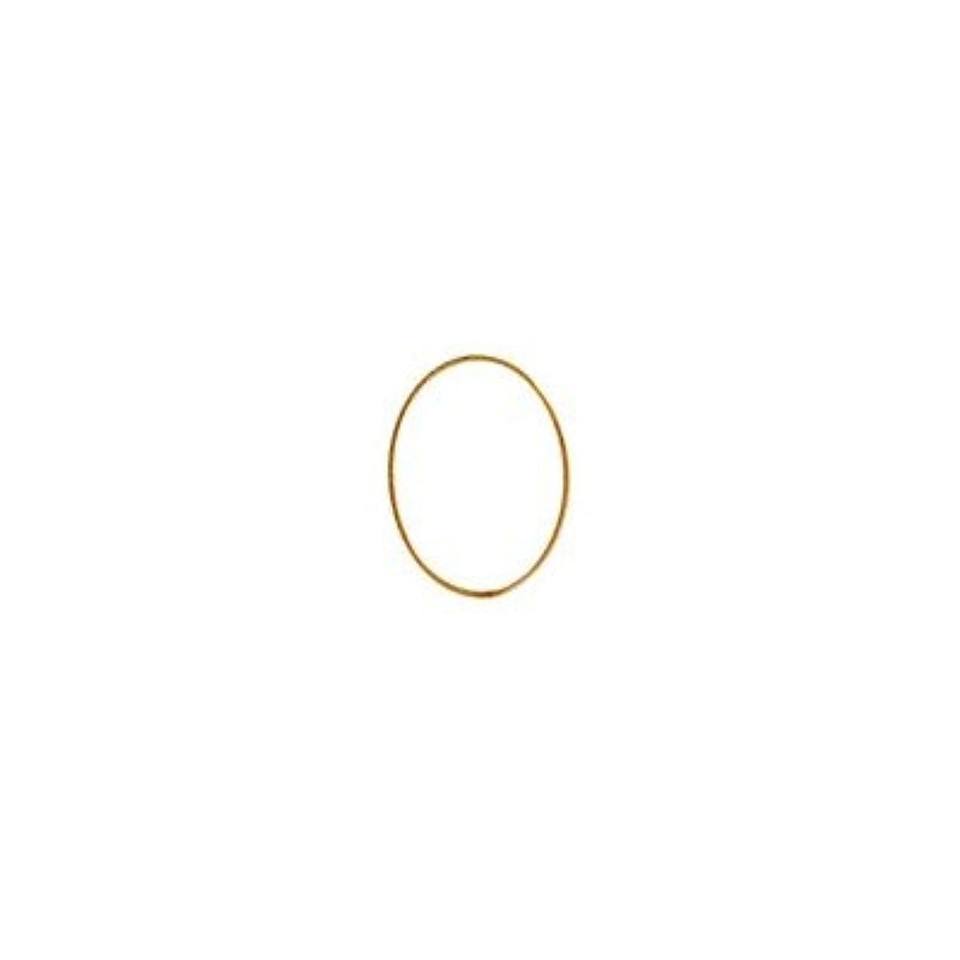 支払う写真を撮る商標シャレドワミュゼ BLC ブローチ オーバル 7×5mm ゴールド 10p