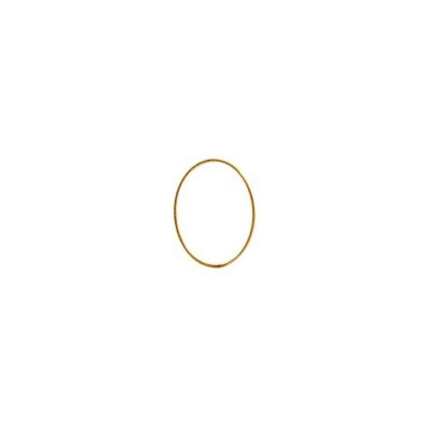シャレドワミュゼ BLC ブローチ オーバル 7×5mm ゴールド 10p