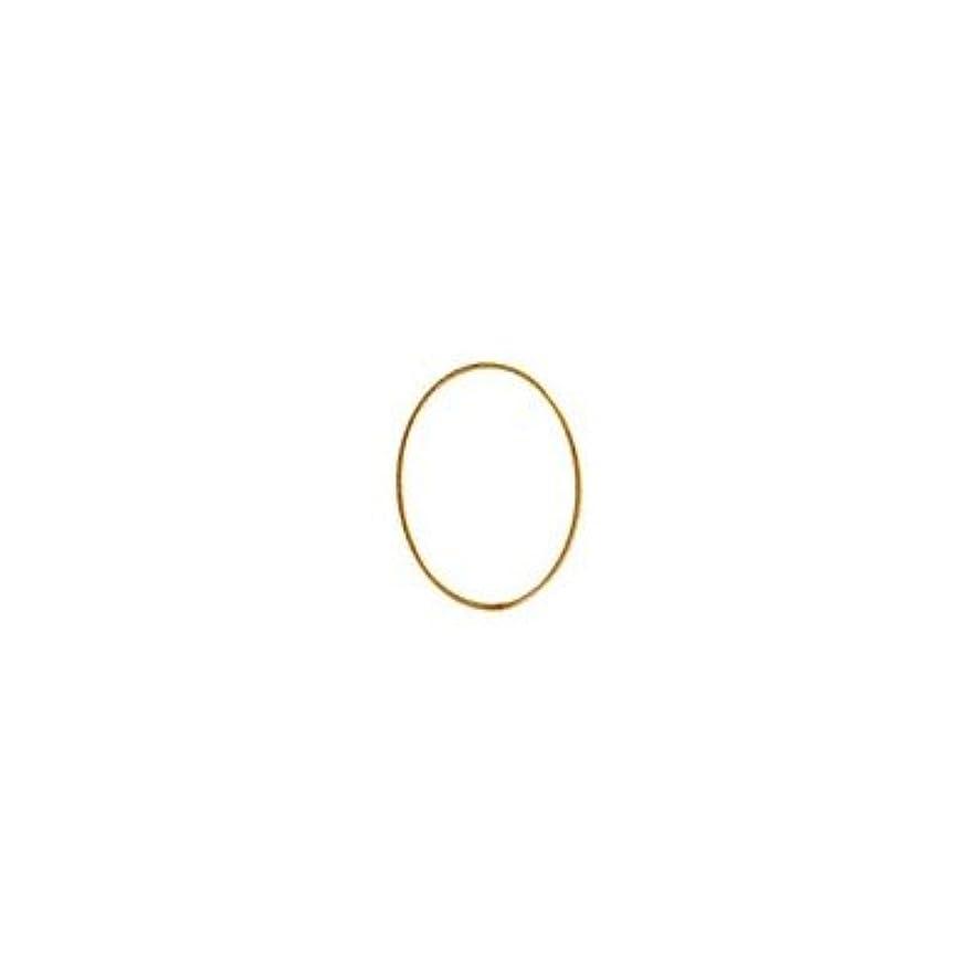 飢えた発表する間隔シャレドワミュゼ BLC ブローチ オーバル 7×5mm ゴールド 10p