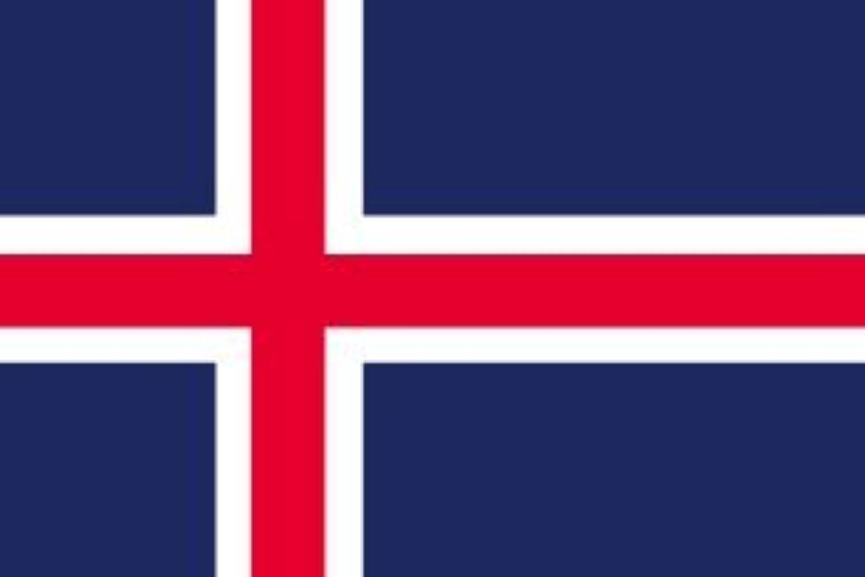 世界の国旗 アイスランド 国旗 [100×150cm 高級テトロン製]