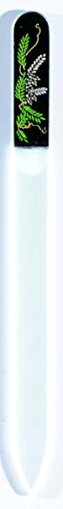 広範囲に不透明などう?橋本漆芸 ブラジェク製高級爪ヤスリ 四月 藤 OPP