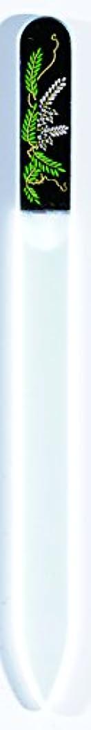 コードに付けるが欲しい橋本漆芸 ブラジェク製高級爪ヤスリ 四月 藤 OPP