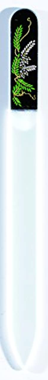 のりパスポート差橋本漆芸 ブラジェク製高級爪ヤスリ 四月 藤 OPP