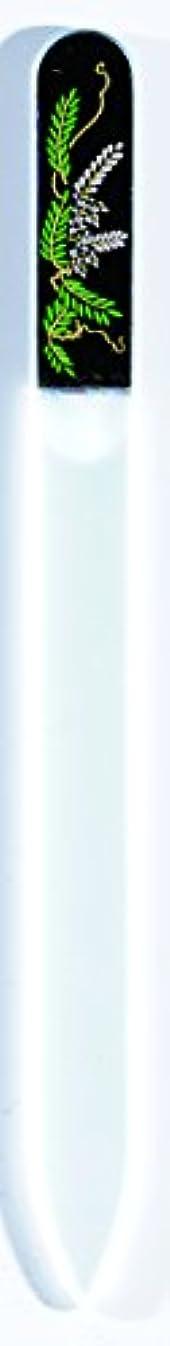 シェア排他的クレタ橋本漆芸 ブラジェク製高級爪ヤスリ 四月 藤 OPP