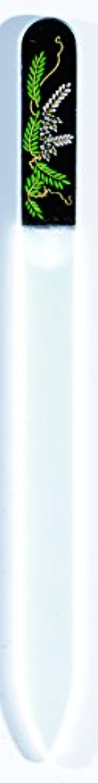 外部架空の障害橋本漆芸 ブラジェク製高級爪ヤスリ 四月 藤 OPP