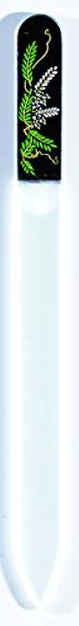好きである勉強するの橋本漆芸 ブラジェク製高級爪ヤスリ 四月 藤 OPP