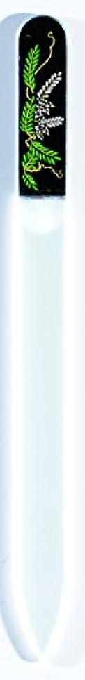 主脚本家回転橋本漆芸 ブラジェク製高級爪ヤスリ 四月 藤 OPP