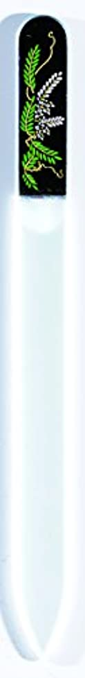 無しめんどり怖がって死ぬ橋本漆芸 ブラジェク製高級爪ヤスリ 四月 藤 OPP