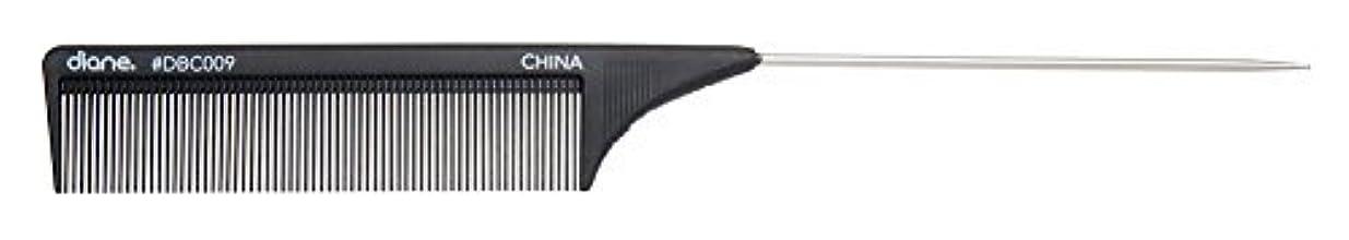 目立つ慣習彫るDiane Carbon Cutting Comb, 8 1/2 Inch [並行輸入品]