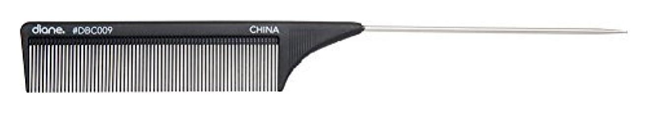 肉腫ロゴ数Diane Carbon Cutting Comb, 8 1/2 Inch [並行輸入品]