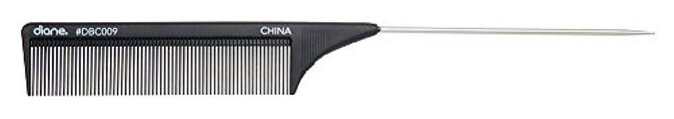 Diane Carbon Cutting Comb, 8 1/2 Inch [並行輸入品]