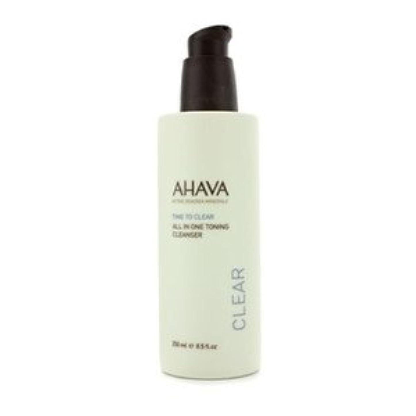 AHAVA(アハバ) タイム トゥ クリア オール イン ワン トニング クレンザー 250ml/8.5oz [並行輸入品]
