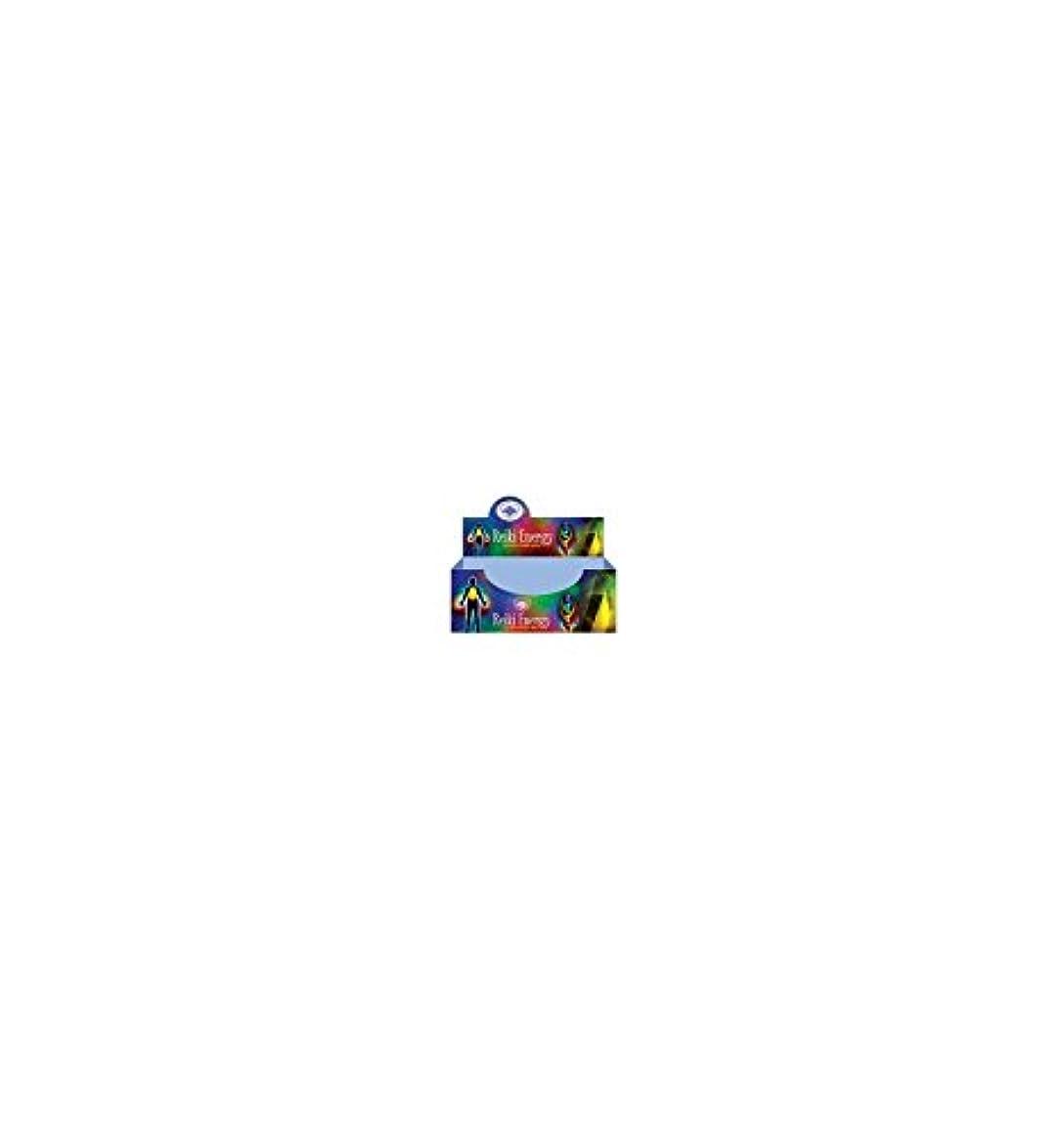 派手スラムウサギグリーンツリーレイキエネルギーMasala Incenseボックス12のパック