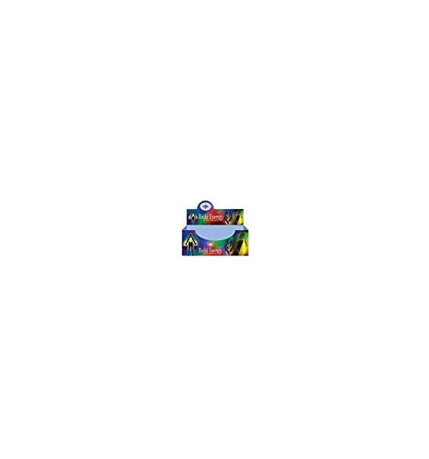 虹グラスバレーボールグリーンツリーレイキエネルギーMasala Incenseボックス12のパック