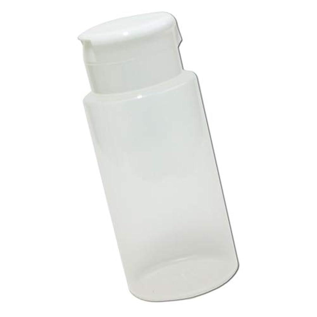 最終的に器具開いたワンタッチキャップ詰め替え容器370ml│業務用ローションやうがい薬、液体石鹸、調味料、化粧品の小分けに詰め替えボトル