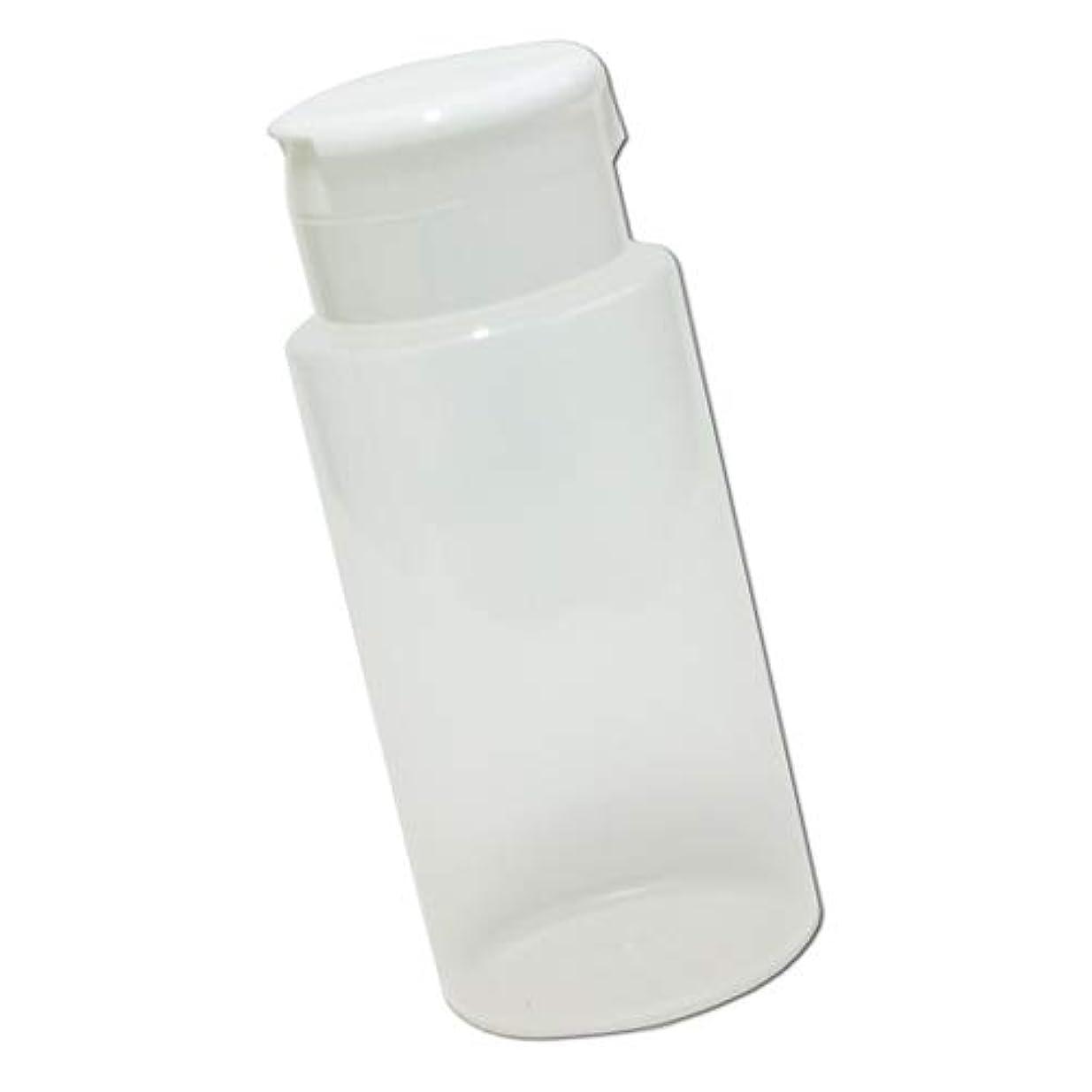 リル欠席ラバワンタッチキャップ詰め替え容器370ml│業務用ローションやうがい薬、液体石鹸、調味料、化粧品の小分けに詰め替えボトル
