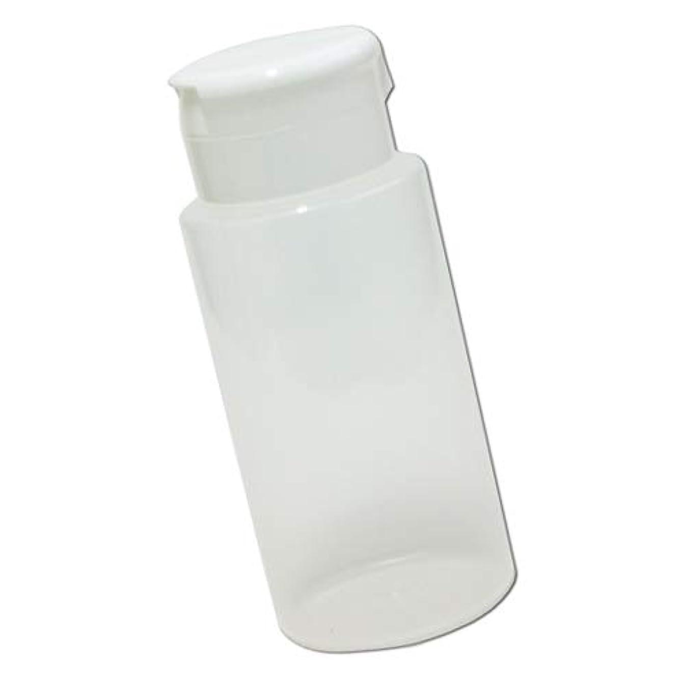 影響する印をつけるジャズワンタッチキャップ詰め替え容器370ml│業務用ローションやうがい薬、液体石鹸、調味料、化粧品の小分けに詰め替えボトル
