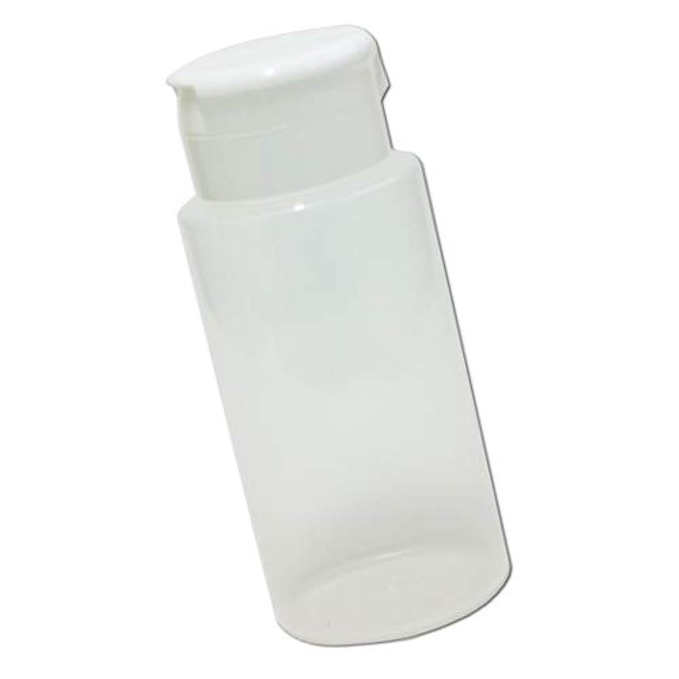 重要性ぎこちないかんたんワンタッチキャップ詰め替え容器370ml│業務用ローションやうがい薬、液体石鹸、調味料、化粧品の小分けに詰め替えボトル