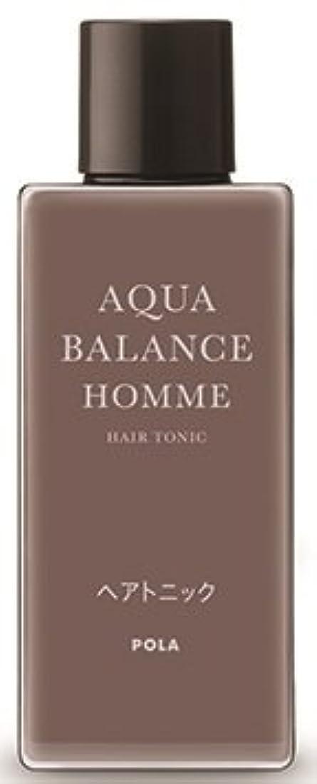 損傷シーフード簡略化するAQUA POLA アクアバランス オム(AQUA BALANCE HOMME) ヘアトニック 養毛料 1L 業務用サイズ 詰替え 200mlボトルx3本