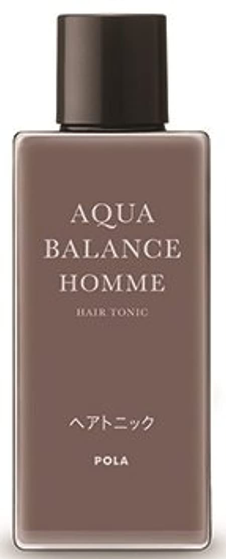 ナインへフロー狂人AQUA POLA アクアバランス オム(AQUA BALANCE HOMME) ヘアトニック 養毛料 1L 業務用サイズ 詰替え 200mlボトルx1本