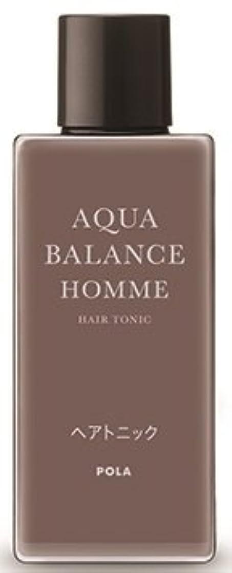 曲線耐えられる起こるAQUA POLA アクアバランス オム(AQUA BALANCE HOMME) ヘアトニック 養毛料 1L 業務用サイズ 詰替え 200mlボトルx3本